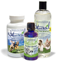 ** Best Value ** Naturasil Pet Mange Value Pack