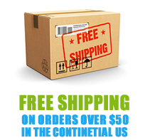 Free Shipping – on orders over 50$