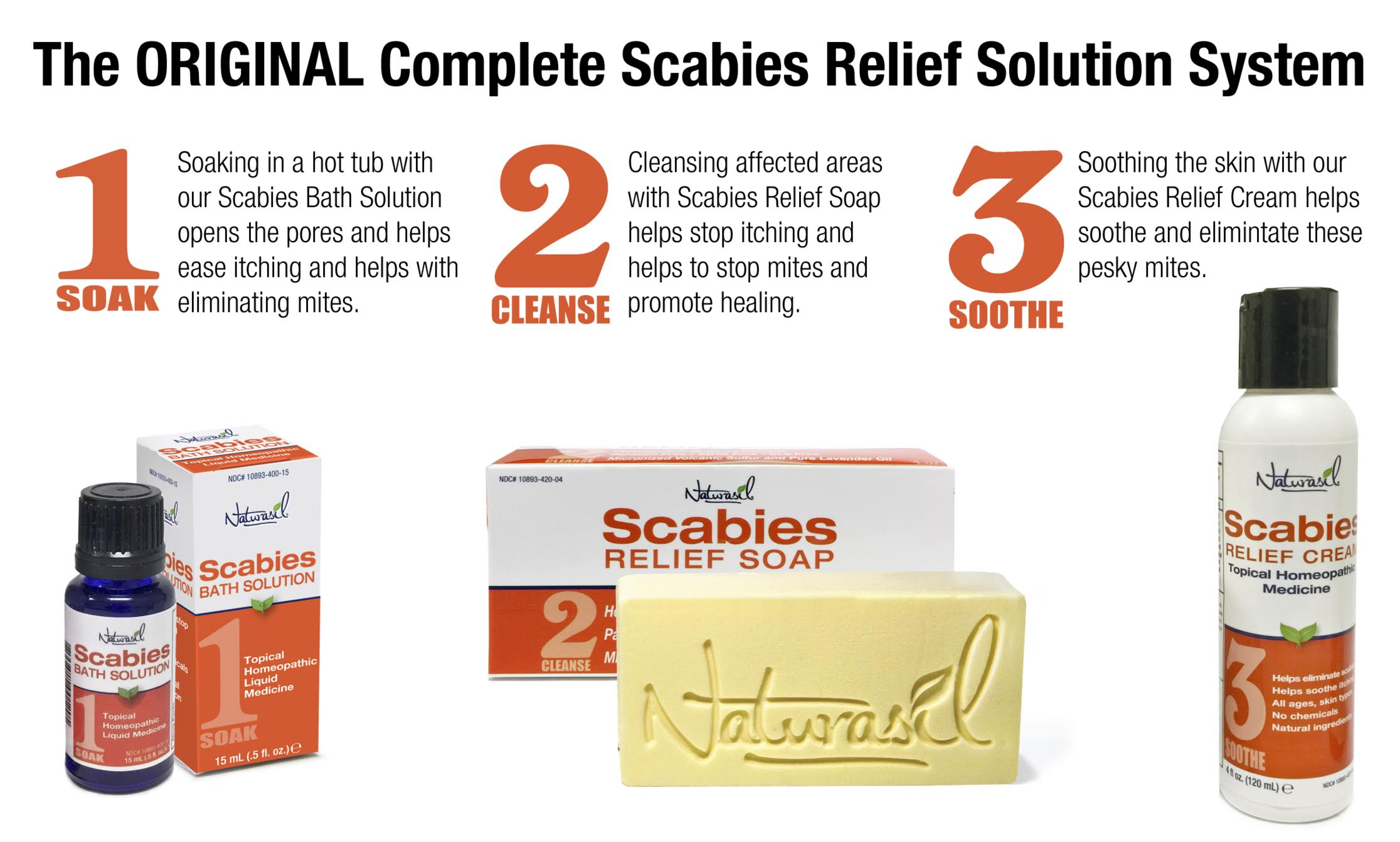 Scabies Treatment Soap With Pure Lavender 2 Bar Pack