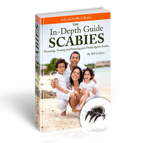 FREE! In-Depth Scabies Guide eBook *Free with Any Scabies Pack* ($9.99 value)