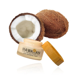 Coconut Revitalizing Cream 50g Glass Jar - Naturasil