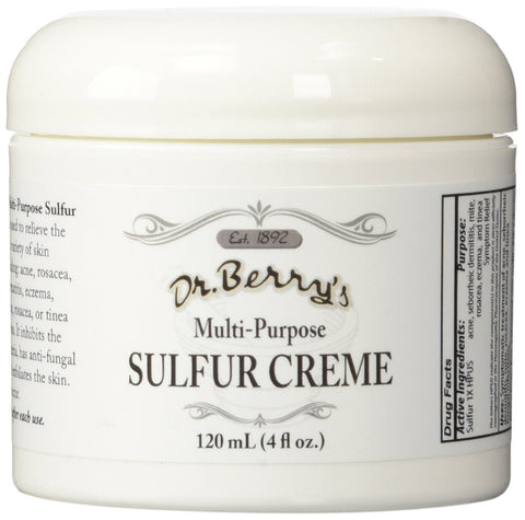 Dr. Berry's Topical Relief Sulfur Cream - 120 ml Bottle