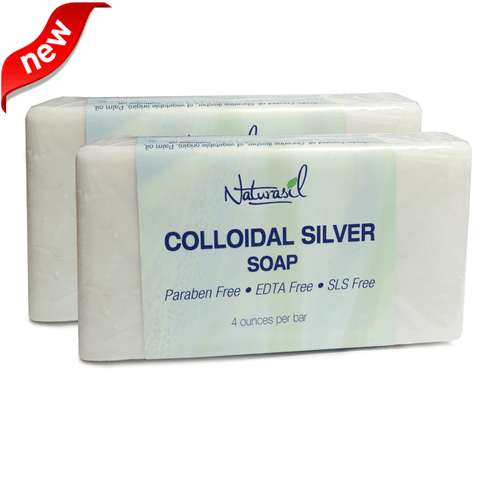 Colloidal Silver Soap 2 Pack