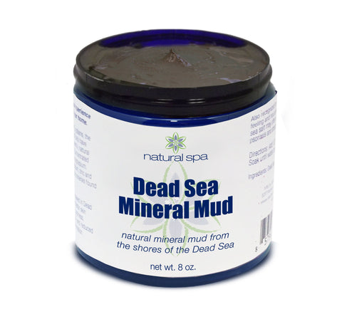 Luxury Dead Sea Mineral Mud - 8oz or 16oz