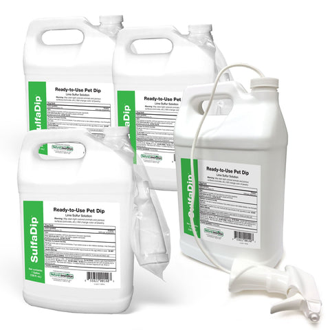 Sulfadip - RTU Mange & Ringworm Treatment - 4 Gallon