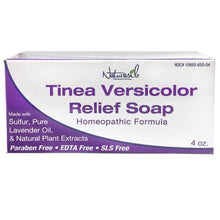 Load image into Gallery viewer, Tinea Versicolor Treatment Sulfur Lavender Soap - 4oz Bar - Naturasil