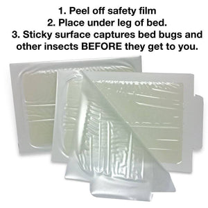 Bed Bug Traps - 8 count pack - Naturasil