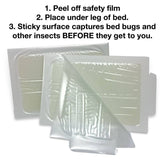 Bed Bug Traps - 8 count pack - Naturasil - 1