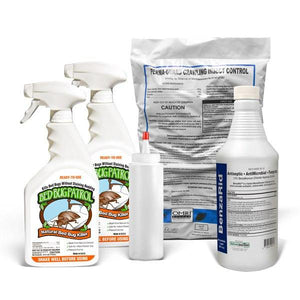 Crawling Insect Control Dust - 100% Diatomaceous Earth - Applicator Included - 2lbs - Naturasil