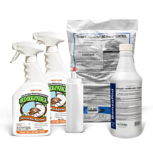 Bed Bug Patrol Bed Bug Killer Two Pack:  2-24 oz. Spray Bottles - 48 oz Total - Naturasil