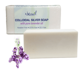 Colloidal Silver Soap with Pure Lavender Single Bar - Naturasil - 1