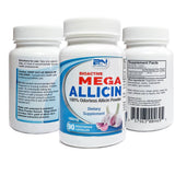 Mega Allicin 100% Allicin from Premium Garlic 90 Count - Naturasil - 4
