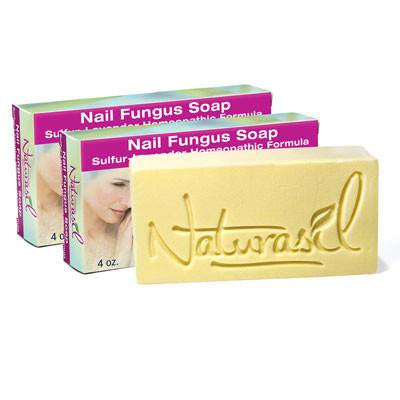 Nail Fungus Treatment Soap - 2 Bar Pack - Naturasil