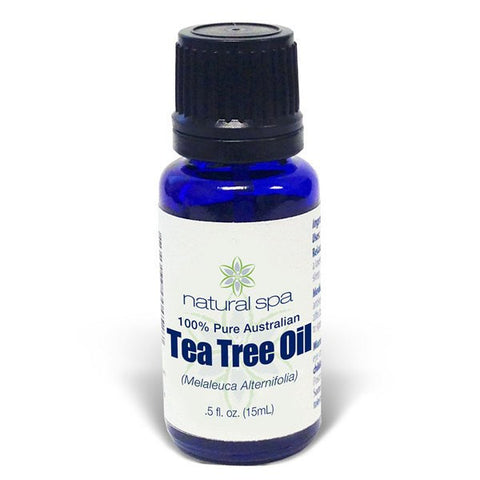 100% Pure Australian Tea Tree Oil by Natural Spa - 0.5oz