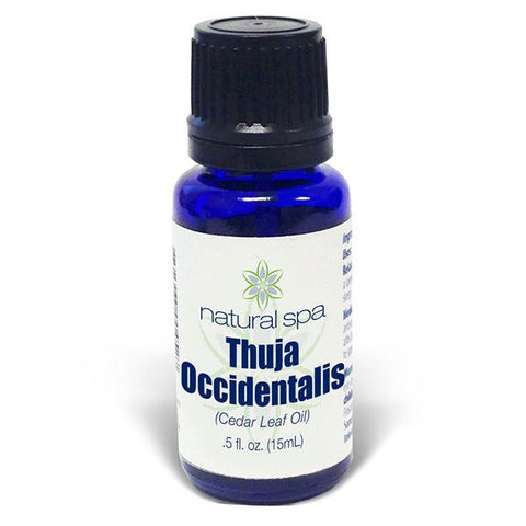Thuja Occidentalis Essential Oil (Cedar Leaf Oil)- 100% Pure - 0.5oz