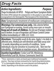 Molluscum Contagiosum Treatment For Children and Adults - 50 ml - Naturasil