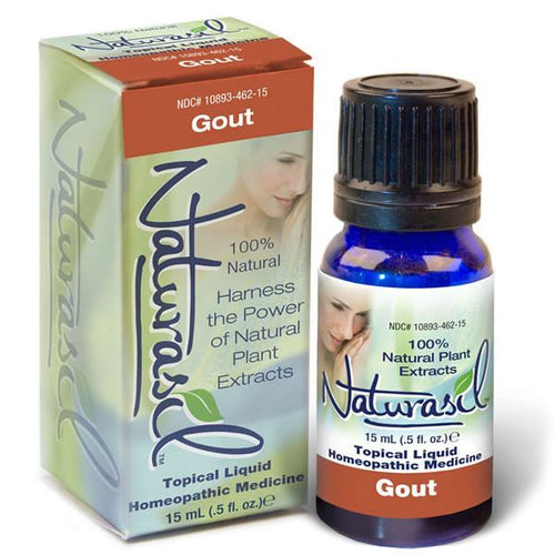 Gout Pain and Inflammation Relief - 15 ml Glass Bottle - Naturasil