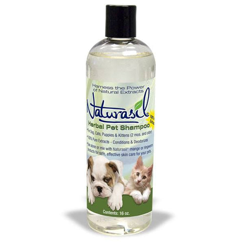 Herbal Pet Shampoo - 16oz - Naturasil