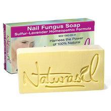 Load image into Gallery viewer, Nail Fungus Medicated Soap 4 oz Bar - Naturasil