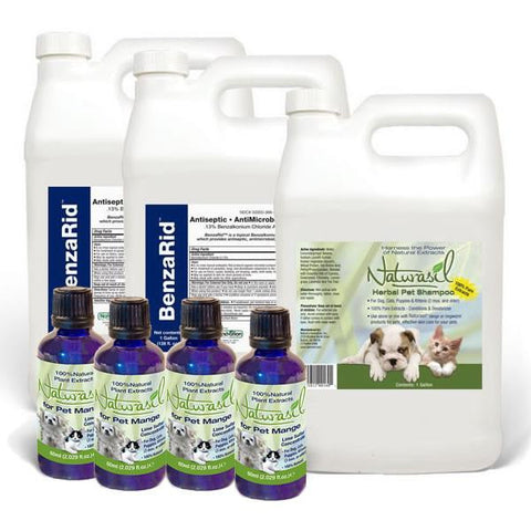 Mange Breeder and Kennel Treatment Pack