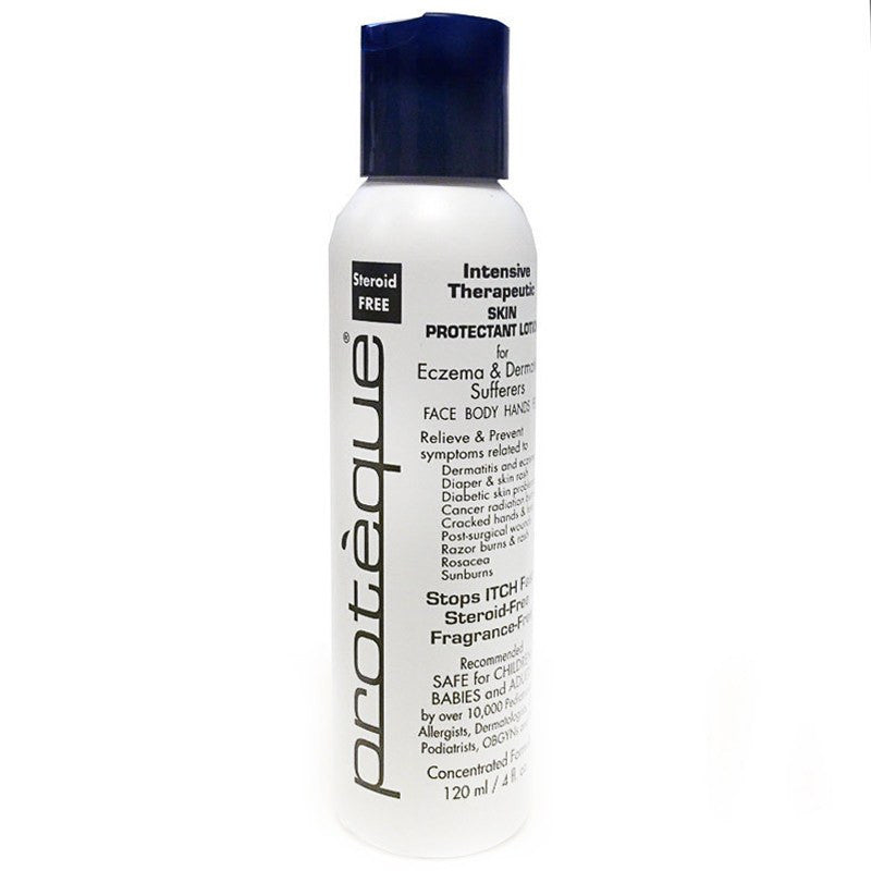 Proteque Intensive Therapeutic Skin Lotion 4 oz Bottle - Naturasil