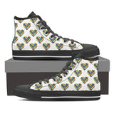 Autism Heart High Top Men