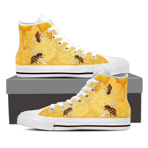 Bee Shoes - Limited Edition - Men's High Top