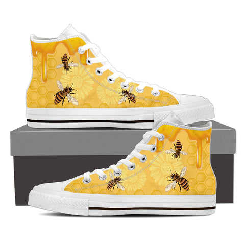 Bee Shoes Ladies High Top - Limited Edition