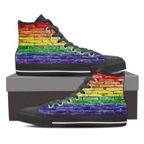Pride High Top Shoes - Women