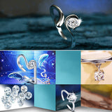 Zodiac Star Signs Adjustable Ring