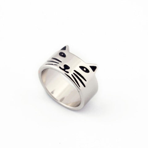 Vintage Cat Charm Rings - Just Pay Shipping