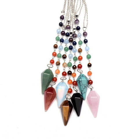 Chakra Natural Stone Necklace - Just Pay Shipping