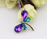 Crystal Dragonfly Necklace - Just Pay Shipping