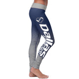 Dallas Football Loving Girl Leggings