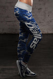 Dallas Football Camo Leggings