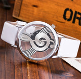 Musical Note Style Watch