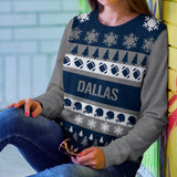 Dallas Football Ugly Christmas Sweatshirt