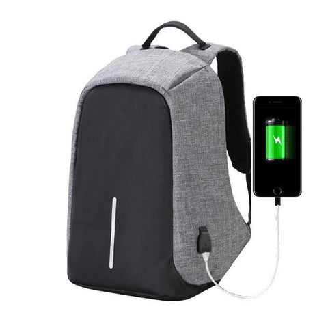 Travel Backpack With USB Charger