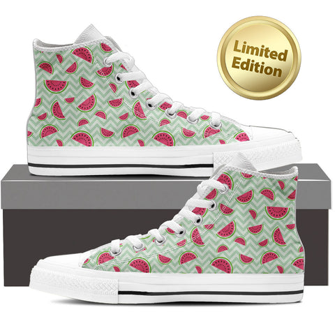 Watermelon - Ladies High Top