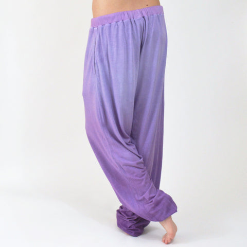 Hand Dyed Purple Ombre Pant - XL