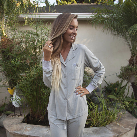 Long Sleeve Pajama Top - Dusk