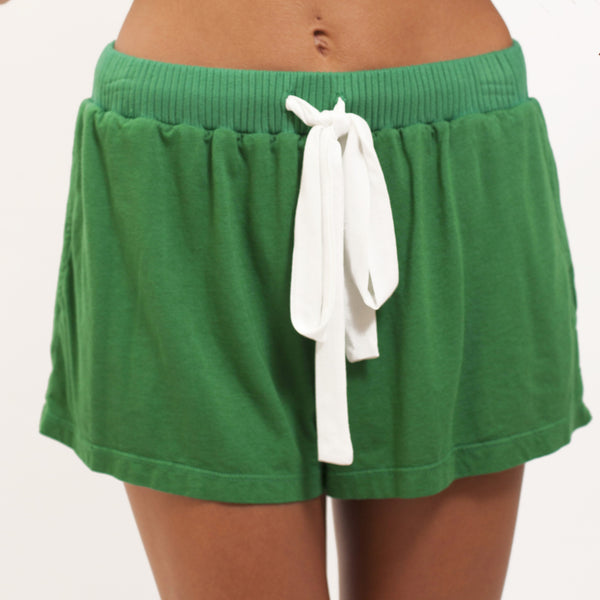 Pajama Short - Evergreen