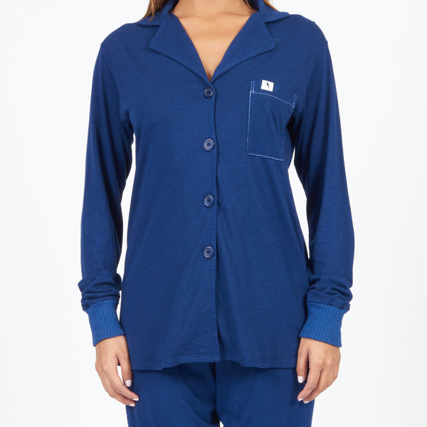 Long Sleeve Pajama Top - Sailor