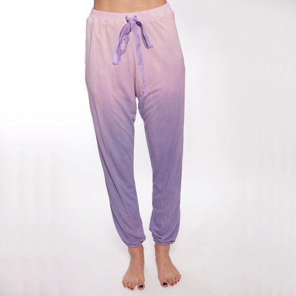 Hand Dyed Ombre Pant and Purple Pant - XL
