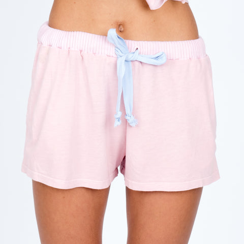 Pajama Shorts - Rose
