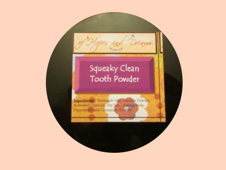 Squeaky Clean Tooth Powder