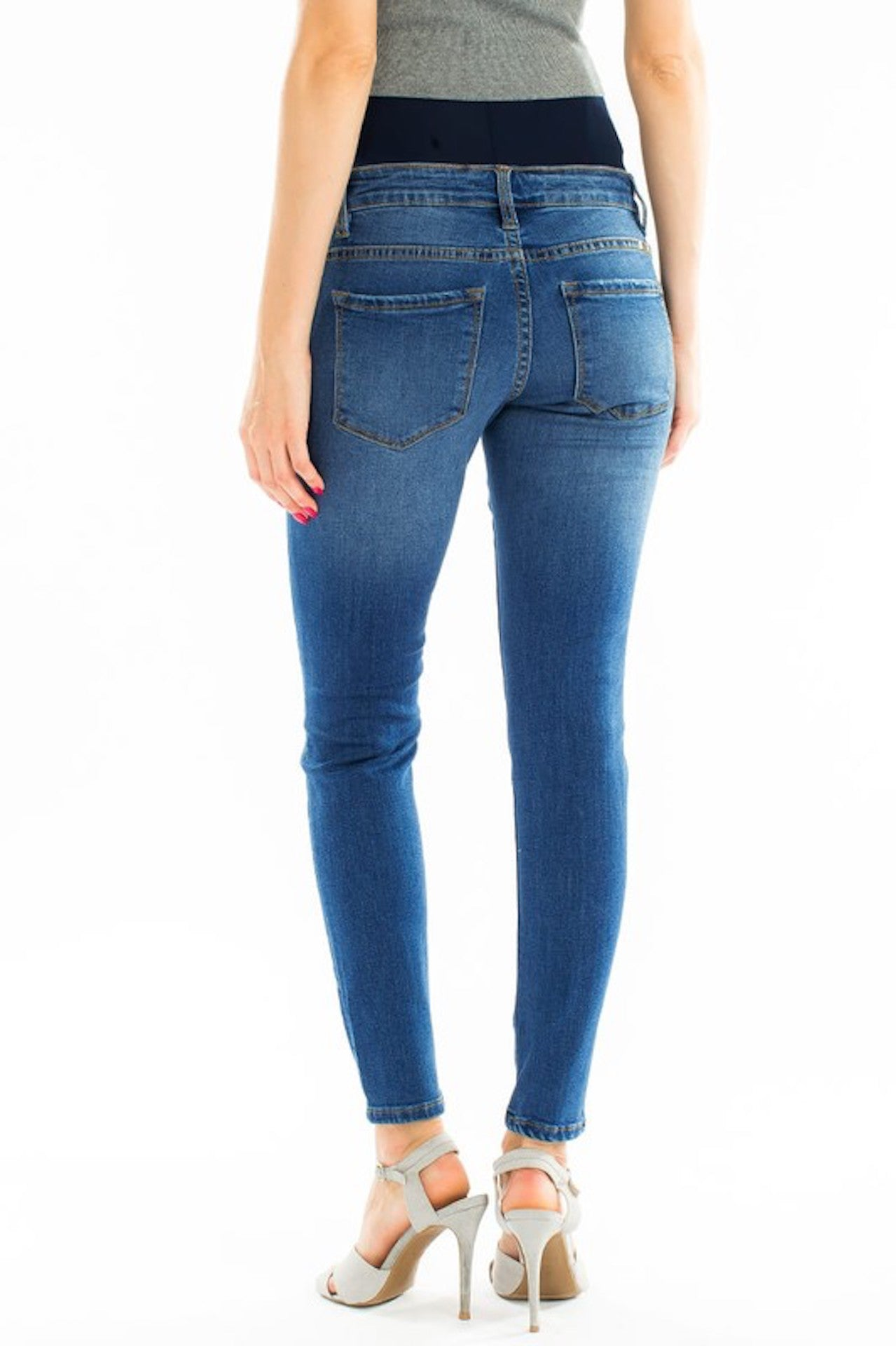 7029dea54eb74 ... Load image into Gallery viewer, KanCan Maternity Jeans Collection:  Summer 2019 Color: Light ...