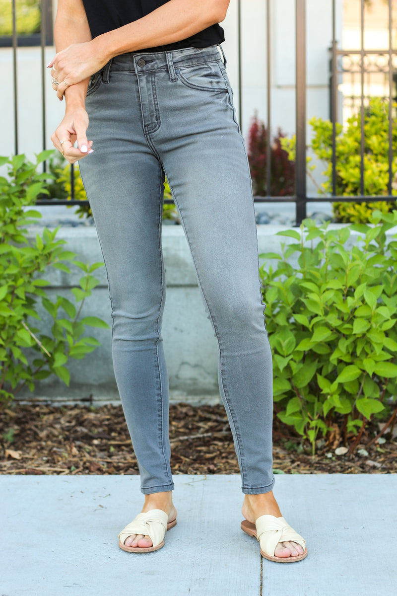 Kan Can Jeans Collection: Core Color: Grey Cut: Skinny, 30