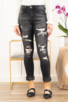 "VERVET by Flying Monkey Jeans    Camouflage is a must have trendy print and these Camo Patch skinny jeans offer a cute distressed look with coverage. Collection: Spring 2021 Skinny, 27"" Inseam Rise: High Rise, 10"" Front Rise 93.8% COTTON, 5.4% POLYESTER, 0.8% SPANDEX Stitching: Classic Fly: Zip Fly Style #: T5025 Contact us for any additional measurements or sizing."