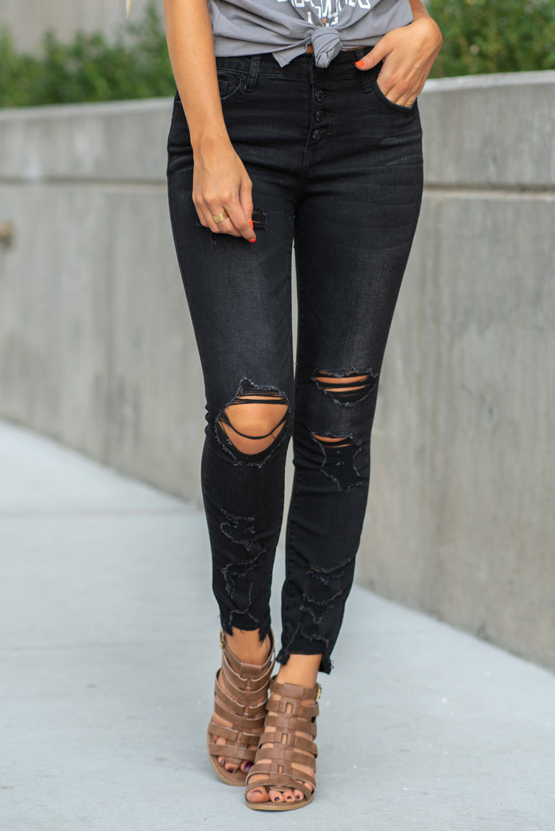 VERVET by Flying Monkey Jeans Collection: Fall 2020 Name: Wonderland Cut: Ankle Skinny, 27